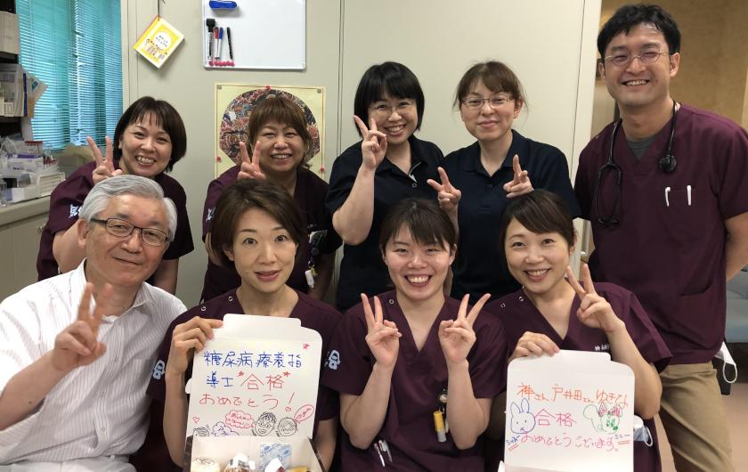 さらに3人が日本糖尿病療養指導士に!